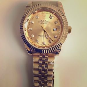 Other - Gold Colored Designer Watch
